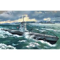 ICM S009 U-BOAT TYPE IIB (1939), GERMAN SUBMARINE 1:144