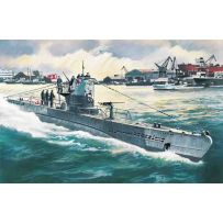 ICM S010 U-BOAT TYPE IIB (1943), GERMAN SUBMARINE 1:144