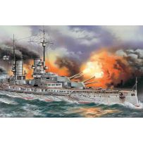 "ICM S005 ""MARKGRAF"", WWI GERMAN BATTLESHIP 1:350"