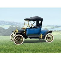 ICM 24001 MODEL T 1913 ROADSTER, AMERICAN PASSENGER CAR 1:24