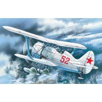 ICM 72013 I-15 BIS, WWII SOVIET BIPLANE FIGHTER (WINTER VERSION) 1:72