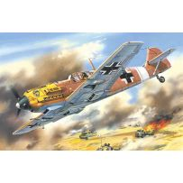 ICM 72133 MESSERSCHMITT BF 109E-7/TROP, WWII GERMAN FIGHTER 1:72