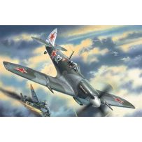 ICM 48066 SPITFIRE LF.IXE, WWII SOVIET AIR FORCE FIGHTER 1:48