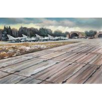ICM 48231 SOVIET PAG-14 AIRFIELD PLATES (32 PIECES) (543×324 MM) 1:48