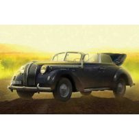 ICM 35471 ADMIRAL CABRIOLET, WWII GERMAN STAFF CAR WITH FIGURES 1:35