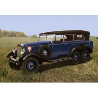 ICM 35532 TYP G4 (W31) SOFT TOP, WWII GERMAN PERSONNEL CAR 1:35