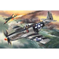 ICM 48154 MUSTANG P-51K, WWII AMERICAN FIGHTER 1:48