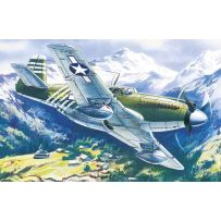 ICM 48161 MUSTANG P-51A, WWII AMERICAN FIGHTER 1:48