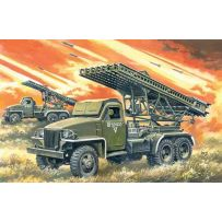 ICM 35512 BM-13-16N, WWII SOVIET MULTIPLE LAUNCH ROCKET SYSTEM 1:35