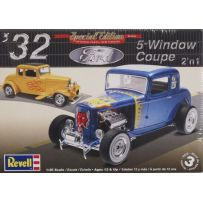 REVELL 14228 32 FORD 5 WINDOW COUPE
