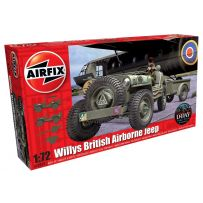 WILLYS BRITISH AIRBORNE JEEP 1/72