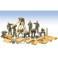 EQUIPAGE CHAR ALLEMAND 1/48