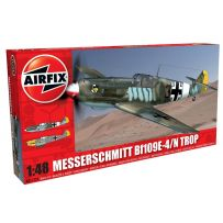 AIRFIX 05122A MESSERSCHMITT BF109E-4/N TROPICAL 1/48