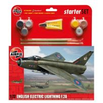 AIRFIX 55305 ENGLISH ELECTRIC LIGHTNING F.2A STARTER 1/72