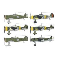 SPECIAL HOBBY 48124 FOKKER D.XXI DUO PACK 1/48