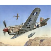 SPECIAL HOBBY 72155 P-40 F WARHAWK SHORT TAILS OVER AFRICA 1/72