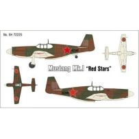 SPECIAL HOBBY 72225 MUSTANG MK.IRED STARS 1/72
