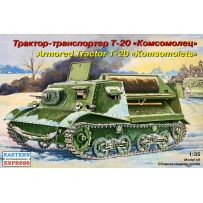 "EASTERN EXPRESS 35004 ""KOMSOMOLETS"" T-20 RUSSIAN ARMORED ARTILLERY TRACTOR 1/35"