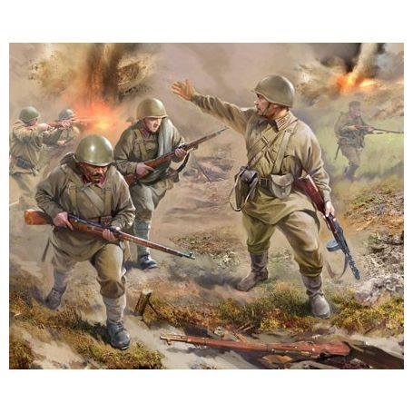 INFANTERIE SOVIETIQUE 1941 1/72