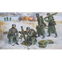 MORTIER ALLEMAND 80MM HIVER 1/72