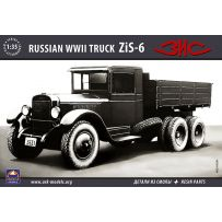 ARK MODELS 35036 ZIS-6 RUSSIAN TRUCK (THE KIT INCLUDES RESIN PARTS) 1/35