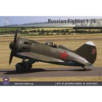 ARK MODELS 48003 POLIKARPOV 1-16 RUSSIAN FIGHTER (THE KIT INCLUDES 2 SETS OF PLASTIC PARTS & RESIN PARTS) 1/48