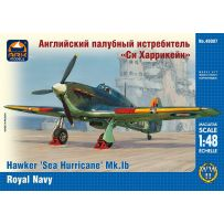 ARK MODELS 48007 HAWKER SEA HURRICANE MK.IB BRITISH CARRIER-BOMB FIGHTER THE FLEET AIR ARM OF THE ROYAL NAVY 1/48