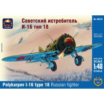 ARK MODELS 48010 POLIKARPOV 1-16 TYPE 18 RUSSIAN FIGHTER 1/48