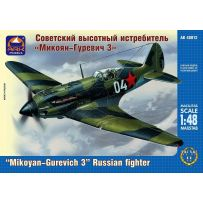 ARK MODELS 48012 MIKOYAN-GUREVICH MIG-3 RUSSIAN HIGH-ALTITUDE FIGHTER 1/48