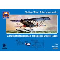 ARK MODELS 72008 BLACKBURN SHARK BRITISH TORPEDO BOMBER 1/72