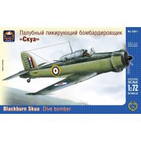 ARK MODELS 72011 BLACKBURN SKUA MK.II BRITISH CARRIER-BORNE DIVE BOMBER 1/72