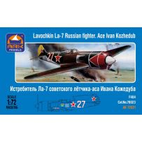ARK MODELS 72021 LAVOCHKIN LA-7 RUSSIAN FIGHTER. ACE IVAN KOZHEDUB 1/72