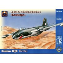 ARK MODELS 72023 ENGLISH ELECTRIC CANBERRA B(I) MK.8 BRITISH MEDIUM BOMBER 1/72