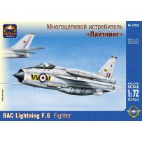 ARK MODELS 72025 BAC LIGHTNING F.6 BRITISH FIGHTER INTERCEPTOR 1/72