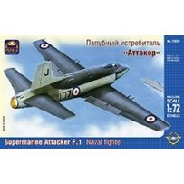 ARK MODELS 72029 SUPERMARINE ATTACKER F.MK.I BRITISH NAVAL FIGHTER 1/72