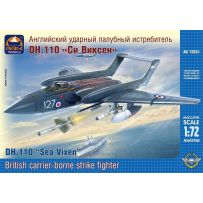 ARK MODELS 72031 DE HAVILLAND DH.110 SEA VIXEN FAW.2 BRITISH CARRIER-BORNE ALL-WEATHER STRIKE FIGHTER 1/72
