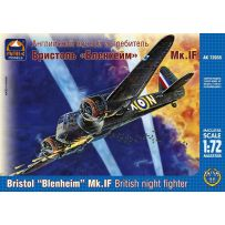 ARK MODELS 72035 BRISTOL BLENHEIM MK.IF BRITISH NIGHT FIGHTER 1/72