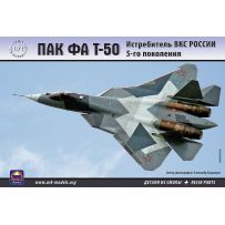 ARK MODELS 72036 PAK FA T-50 RUSSIAN AEROSPACE FORCES 5TH GENERATION FIGHTER (THE KIT INCLUDES RESIN PARTS) 1/72