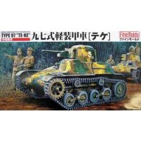 IJA TYPE97 LIGHT ARMORED CAR TE-KE 1/35
