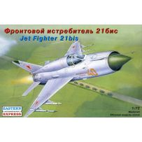 MIKOYAN-GUREVICH MIG-21BIS RUSSIAN TACTICAL JET FIGHTER 1/72