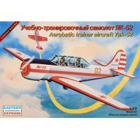 YAKOVLEV YAK-52 RUSSIAN AEROBATICS TRAINING AIRCRAFT 1/72
