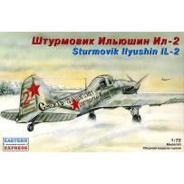 LIYUSHIN IL-2 RUSSIAN GROUND-ATTACK AIRCRAFT 1/72