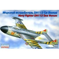 DE HAVILLAND DH.112 SEA VENOM BRITISH CARRIER-BORNE JET FIGHTER 1/72