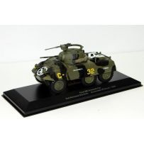 VEHICULE MILITAIRE AEMVE008 FORD M8 ARMORED CAR 2ND ARMORED DIVISION AVRANCHES FRANCE - 1944 1/43