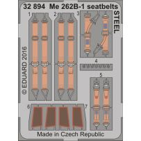 ME 262B-1 SEATBELTS STEEL 1/32