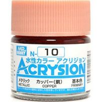 GUNZE N010 ACRYSION 10 ML WHITE A L'UNITE