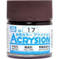 GUNZE N017 ACRYSION 10 ML WHITE A L'UNITE
