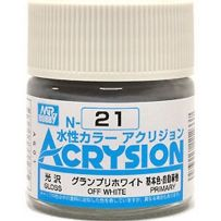 GUNZE N021 ACRYSION 10 ML OFF WHITE A L'UNITE
