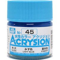 GUNZE N045 ACRYSION 10 ML LIGHT BLUE A L'UNITE