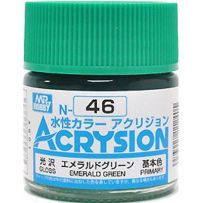 GUNZE N046 ACRYSION 10 ML EMERALD GREEN A L'UNITE